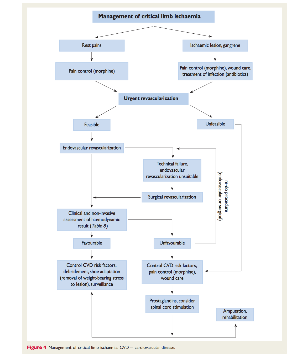 ESC 2011 Guidelines On The Diagnosis And Treatment Of Peripheral Artery  Diseases